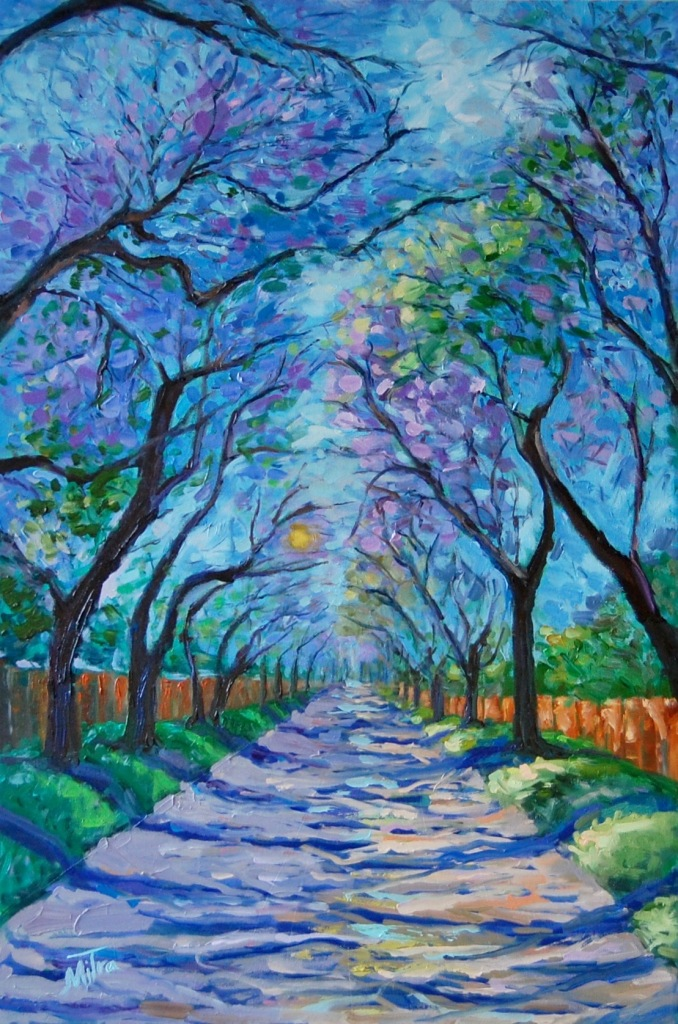 Spring - Four Season Collection, 24x36x1.5 inches, Oil on Gallery Wrapped Canvas,